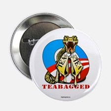 "Teabagged! 2.25"" Button (10 pack)"