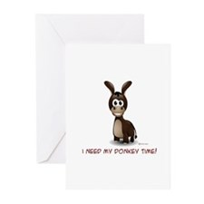 Donkey Time Greeting Cards (Pk of 10)