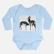 Springboks Long Sleeve Infant Bodysuit