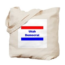 Utah Democrat Tote Bag