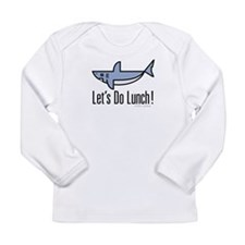 Let's Do Lunch! Long Sleeve Infant T-Shirt