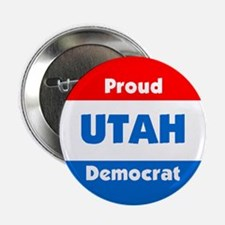 Utah Proud Democrat Button