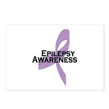 Epilepsy Awareness Ribbon Postcards (Package of 8)