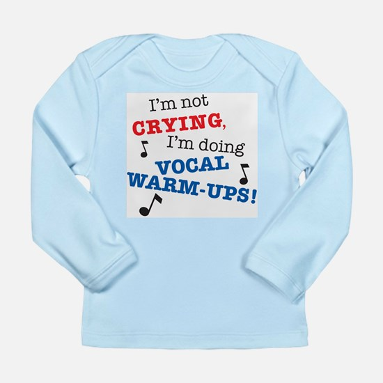 Vocal Warm-ups Long Sleeve Infant T-Shirt