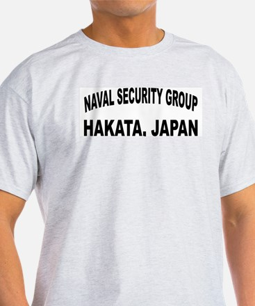 NAVAL SECURITY GROUP ACTIVITY, HAKATA T-Shirt