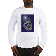 Mini Schnauzer Xmas Long Sleeve T-Shirt