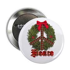 "Christmas Peace 2.25"" Button"
