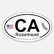 Rosemead Sticker (Oval)