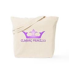 Climbing Princess Tote Bag