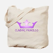 Climbing Princess Tote Bag