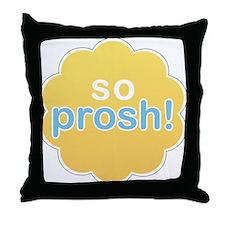So Prosh Throw Pillow