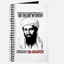 Osama Dead or Alive Journal
