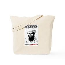 Osama Dead or Alive Tote Bag