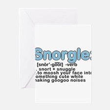 Snorgle Greeting Card