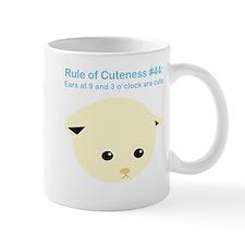 Rule of Cuteness 44 Mug