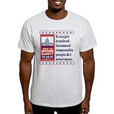 Went Sane T-Shirt