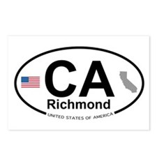 Richmond Postcards (Package of 8)