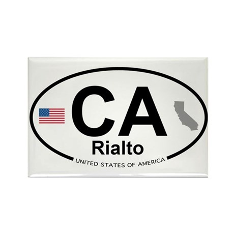 Rialto Rectangle Magnet (100 pack)