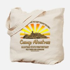 CAMP ALCATRAZ Tote Bag