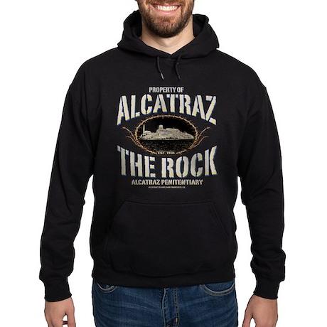 "ALCATRAZ ""THE ROCK"" Hoodie (dark)"