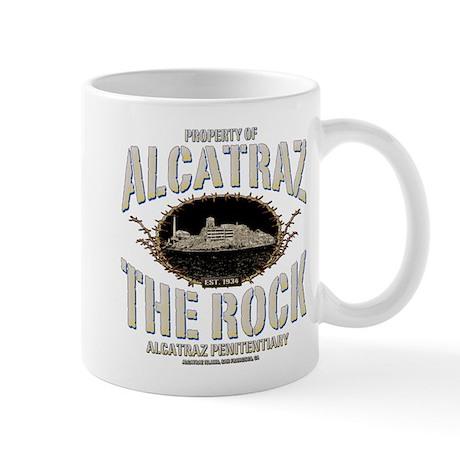 """ALCATRAZ """"THE ROCK"""" Mug"""