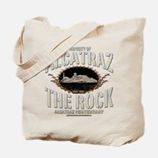 "ALCATRAZ ""THE ROCK"" Tote Bag"
