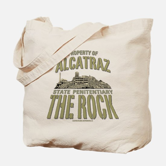 PROPERTY OF ALCATRAZ Tote Bag