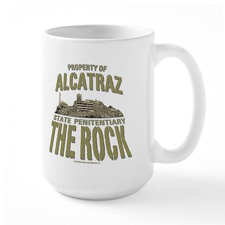 PROPERTY OF ALCATRAZ Large Mug