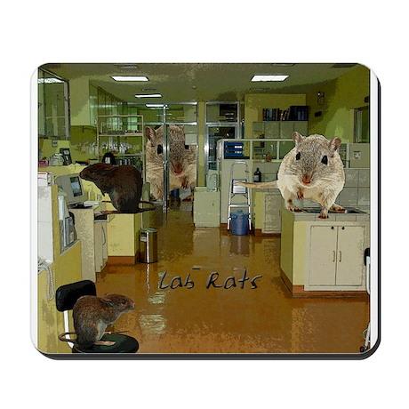 Lab Rats 2 Mousepad