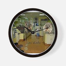Lab Rats 2 Wall Clock