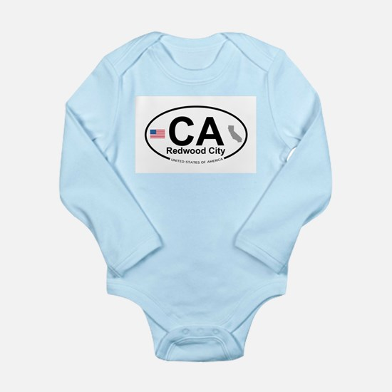 Redwood City Long Sleeve Infant Bodysuit