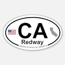 Redway Sticker (Oval)