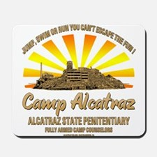 CAMP ALCATRAZ Mousepad