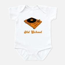 Old School Turntable Infant Bodysuit