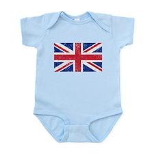 British Flag Infant Bodysuit