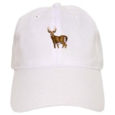 American White Tail Deer Buck Baseball Cap