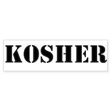 Kosher Sticker (Bumper)
