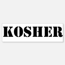 Kosher Sticker (Bumper)