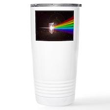 Space Prism Rainbow Spectrum Travel Mug