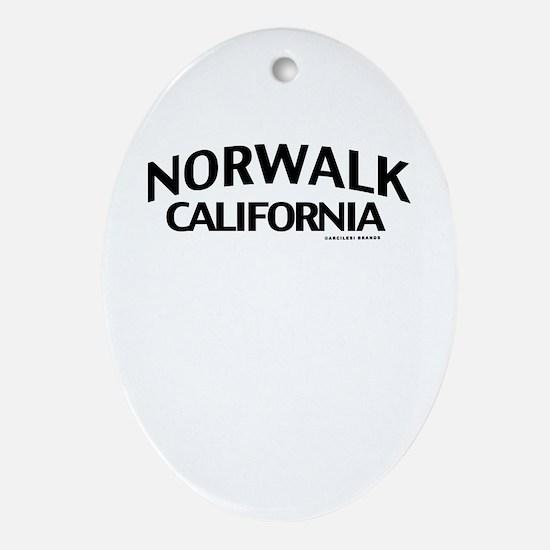 Norwalk Ornament (Oval)