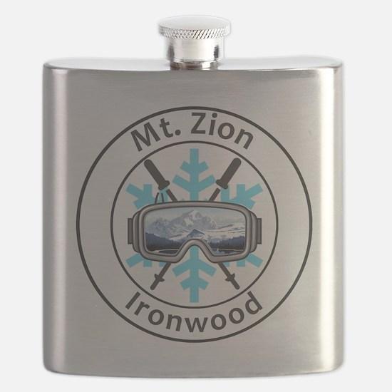 Funny Ironwood Flask