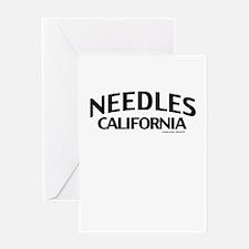 Needles Greeting Card