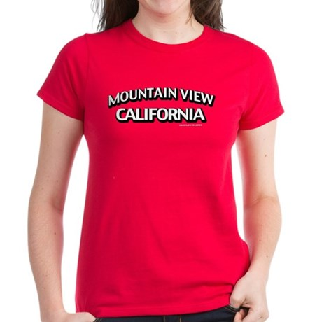 Mountain View Women's Dark T-Shirt