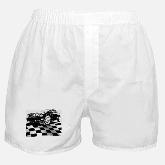 2011 Mustang Flag Boxer Shorts