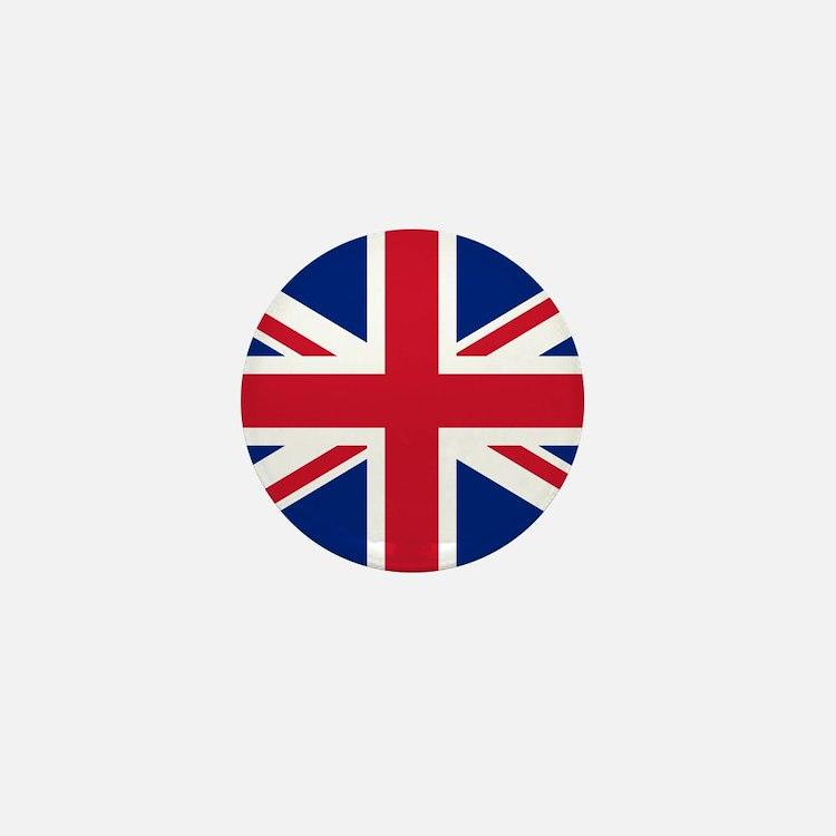 British Flag Mini Button
