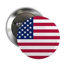 "US Flag 2.25"" Button"