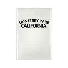 Monterey Park Rectangle Magnet
