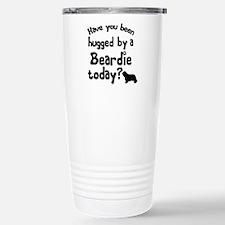 Hugged By a Beardie? Travel Mug