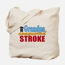 Grandpa Beat Stroke Tote Bag