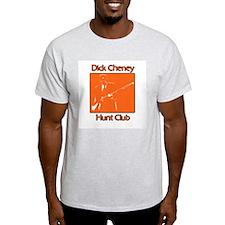Dick Cheney Hunt Club Ash Grey T-Shirt